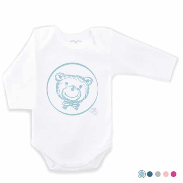 Body naissance - Marque française d'ours en peluche et vêtements bébé - Une collection de cadeau de naissance unique - L'Ours Kiwi