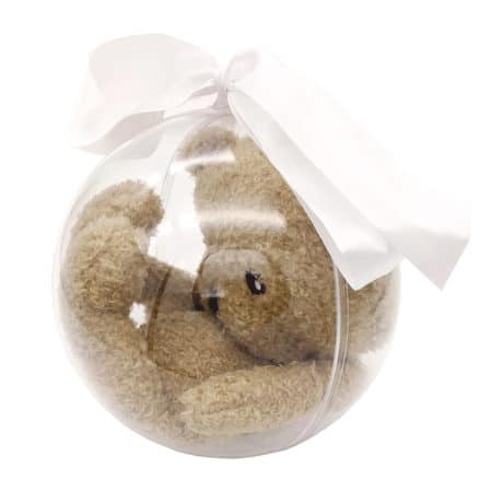 Ours en peluche dans bulle de naissance - Marque française d'ours en peluche et vêtements bébé - Une collection de cadeau de naissance unique - L'Ours Kiwi