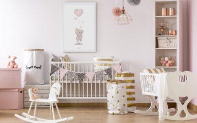 Décorer la chambre de bébé : quelles nouveautés ?