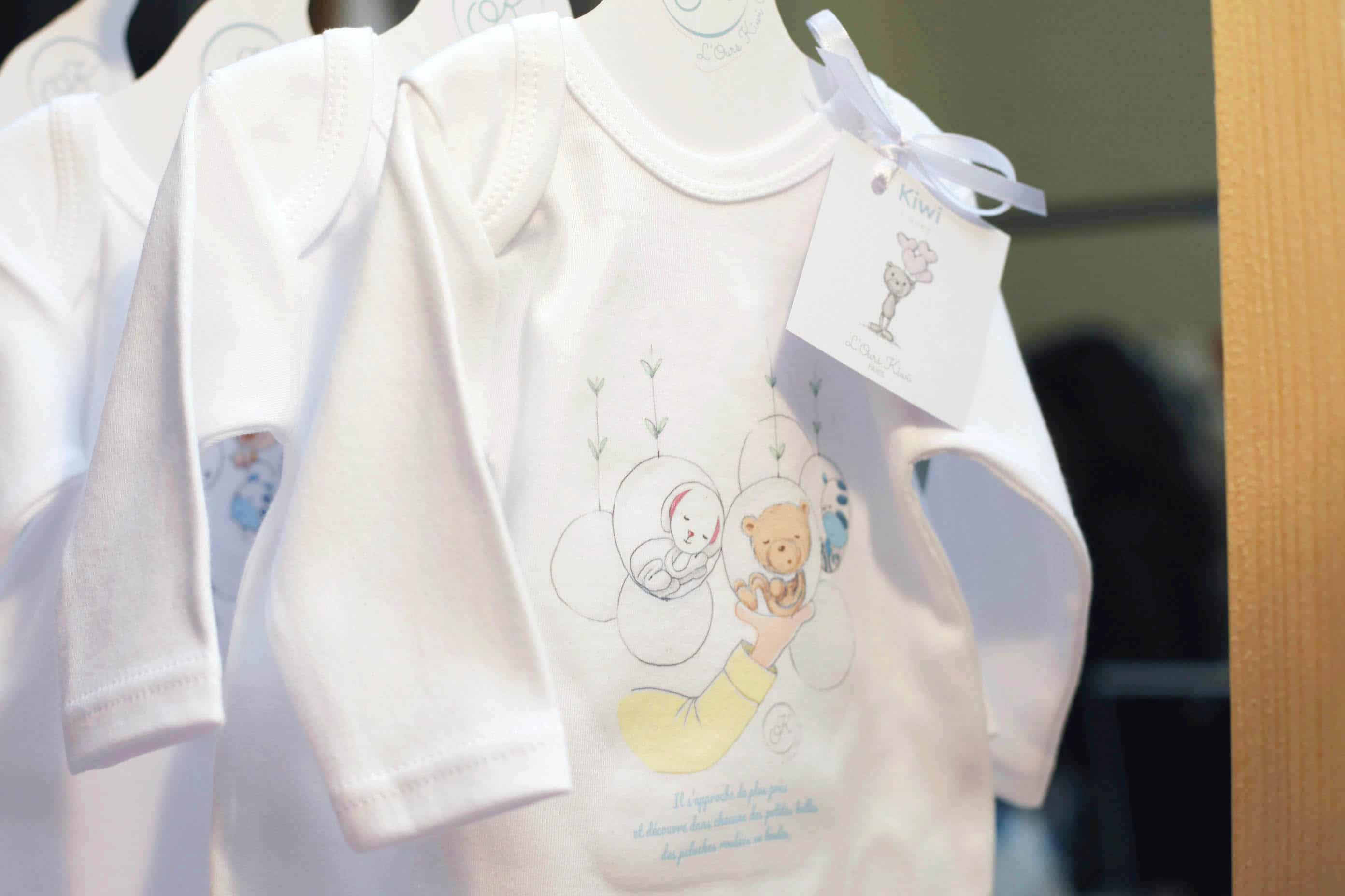 Les bodys pour bébés au salon La belle saison